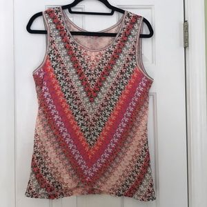 Nic+ Zoe Medium sleeveless top .Never worn